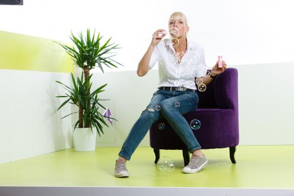 Gitta Blatt, Chefin des Feelgood Teams bei Wooga: kreative Lösungen – immer nah am Menschen